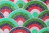 Mosaic wallpaper — Stock Photo