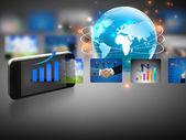 Business world symbols — Stockfoto