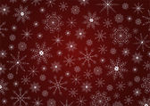 Traditional Christmas snowflakes background — Stock Vector