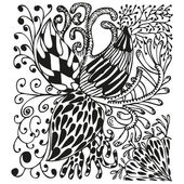 Abstract background with doodling hand drawn patterns — Wektor stockowy