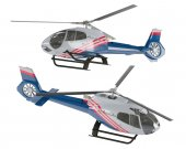 Helicóptero isolado — Fotografia Stock