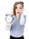 I am so late! — Stock Photo