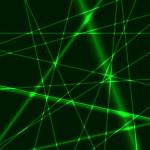Green laser background — Stock Vector #58845839