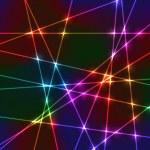 Laser random neon grid — Stock Vector #70383655
