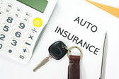 Auto insurance — Stock Photo