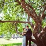 Happy couple enjoying each other. Toned image — Stock Photo #53499335