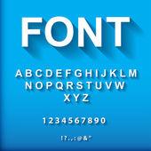 3d font. — Stock Vector