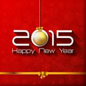 Happy New Year and Merry Christmas Gift greeting card — Stockvector