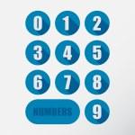 Numbers set — Stock Vector #61576449