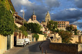 Old town of Segovia. — Stock Photo