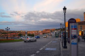 View of the city of Segovia — Stockfoto