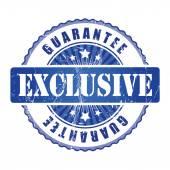 Exclusive Guarantee Stamp. — Stock Vector