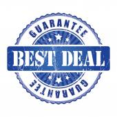 Best Deal Guarantee Stamp. — Stock Vector