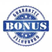 Bonus Guarantee Stamp. — Stock Vector