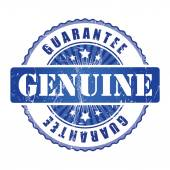 Genuine Guarantee Stamp. — Stock Vector