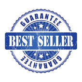 Best Seller Guarantee Stamp. — Stockvector