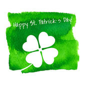 St. Patricks Day  card — Stock Vector