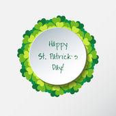 St. Patricks Day Background — Wektor stockowy