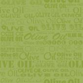 Olive oil seamless pattern — Stock Vector