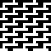 Dikişsiz vintage geometrik desen. — Stok Vektör