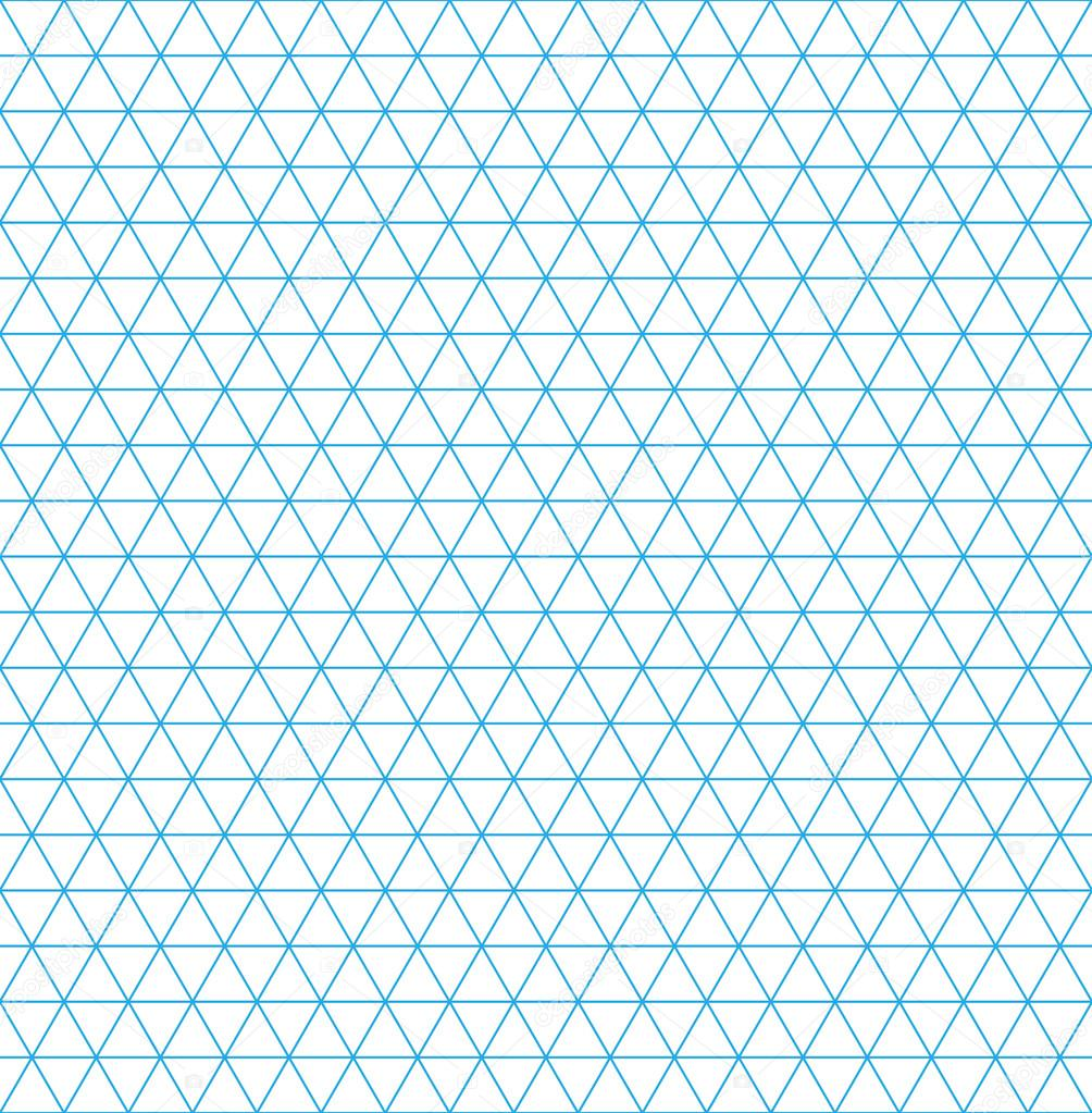 Paper Vector - isometric grid paper. seamless pattern. square grid ...