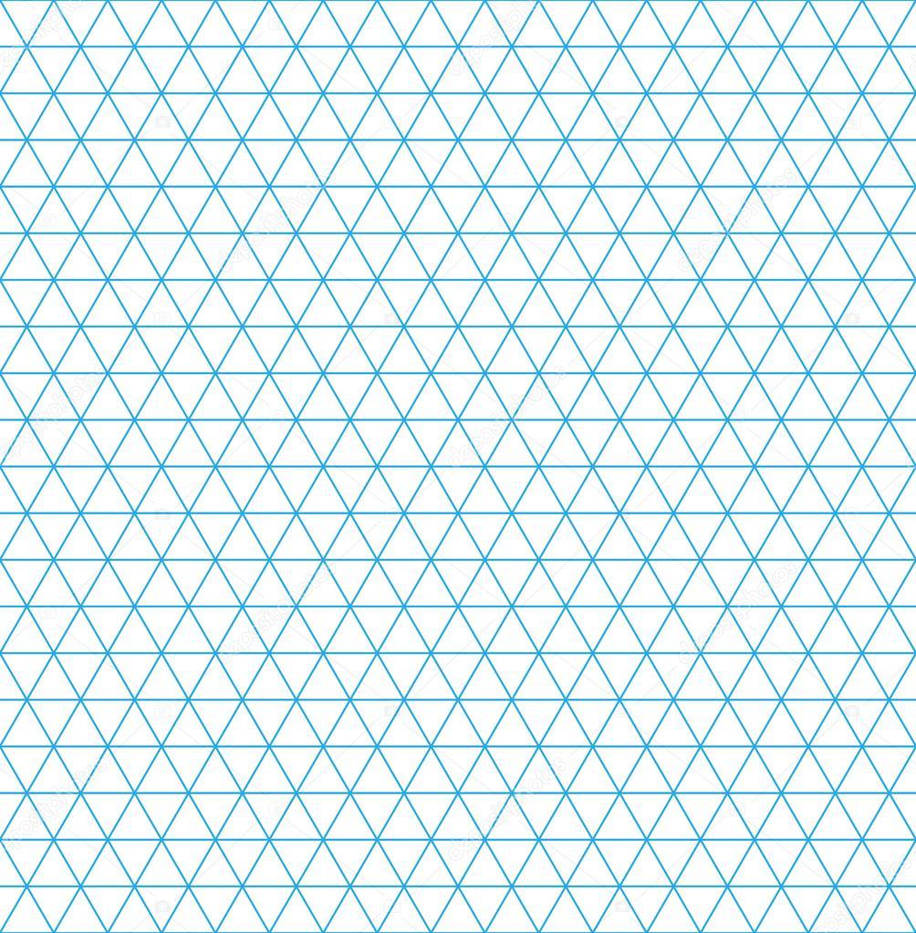Isometric grid paper seamless pattern — Stock Vector © GalaStudio ...