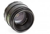 Oude lens, de geïsoleerde afbeelding — Stockfoto