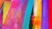 Cotton sven colors of Thailand — Stockfoto
