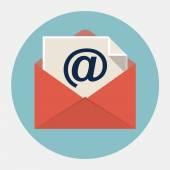 Vector e-mail icon — Stock Vector