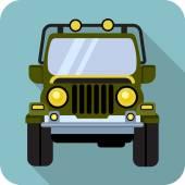 Vector Off-road Vehicle — Stock Vector