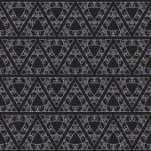 Vector geometric seamless background — Stock Vector