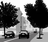 Rue — Vecteur
