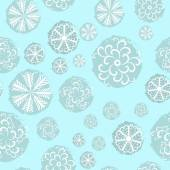 Background of snowflakes 2 — Stock Vector