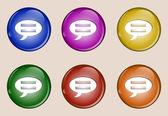 Badge set 53 — Stock Vector