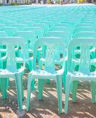 Plastic seat — Stock Photo