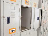 шкафчики — Стоковое фото