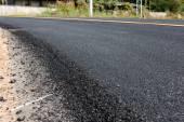 New asphalt road — Stock Photo