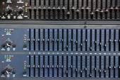 Control audio panel. — Stock Photo