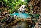 Wonderful waterfall, Koe Luang Waterfall in Lamphun, Thailand — Stock Photo
