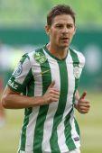 Ferencvaros vs. Nyiregyhaza OTP Bank League football match — Stock Photo