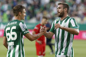 Mecz Ferencvaros vs dunaujvaros otp bank liga piłki nożnej — Zdjęcie stockowe