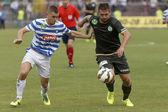 MTK vs. Ferencvaros OTP Bank League football match — Foto Stock