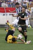 Ujpest vs. Ferencvaros OTP Bank League football match — Stock Photo