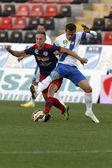 MTK vs. Nyiregyhaza OTP Bank League football match — Stock Photo