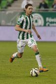 Ferencvaros vs. PMFC-MATIAS OTP Bank League football match — Stock Photo