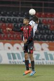 Honved vs. Ferencvarosi TC OTP Bank League football match — Stock Photo