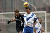 MTK Budapest vs. DVTK OTP Bank League football match — Stock Photo