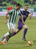 Ferencvaros vs. Kecskemet OTP Bank League football match — Stock Photo