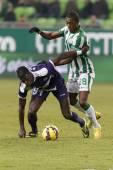 Ferencvaros против Кечкемета otp футбольный матч лиги банка — Стоковое фото