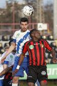 Honved vs. MTK OTP Bank League football match — Zdjęcie stockowe